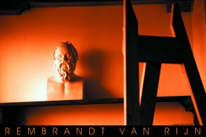 Rembrandt's painting studio in Amsterdam, Holland, as photographed by Brent Green, enjoying life and not suffering.
